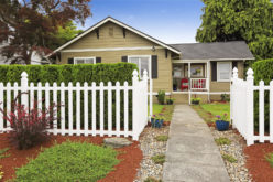 An American House Exterior With an Interesting Curb Appeal