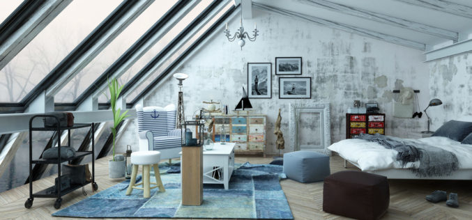 Attic Bedroom with Stellar Sky Windows