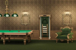 Green Billiard Room