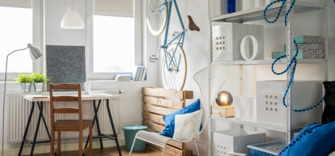 Creative Studio Flat for Young and Active Man