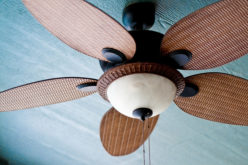 Decorative Ceiling Fan for Porch and Interior Room