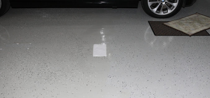 Putting a Shine on Your Garage Floor