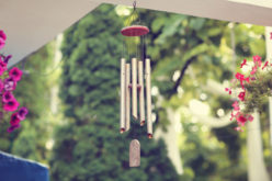 The Sound of Wind Chimes During a Summer Breeze
