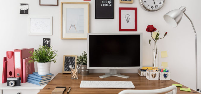 Creating a Simple Home Office or Workstation