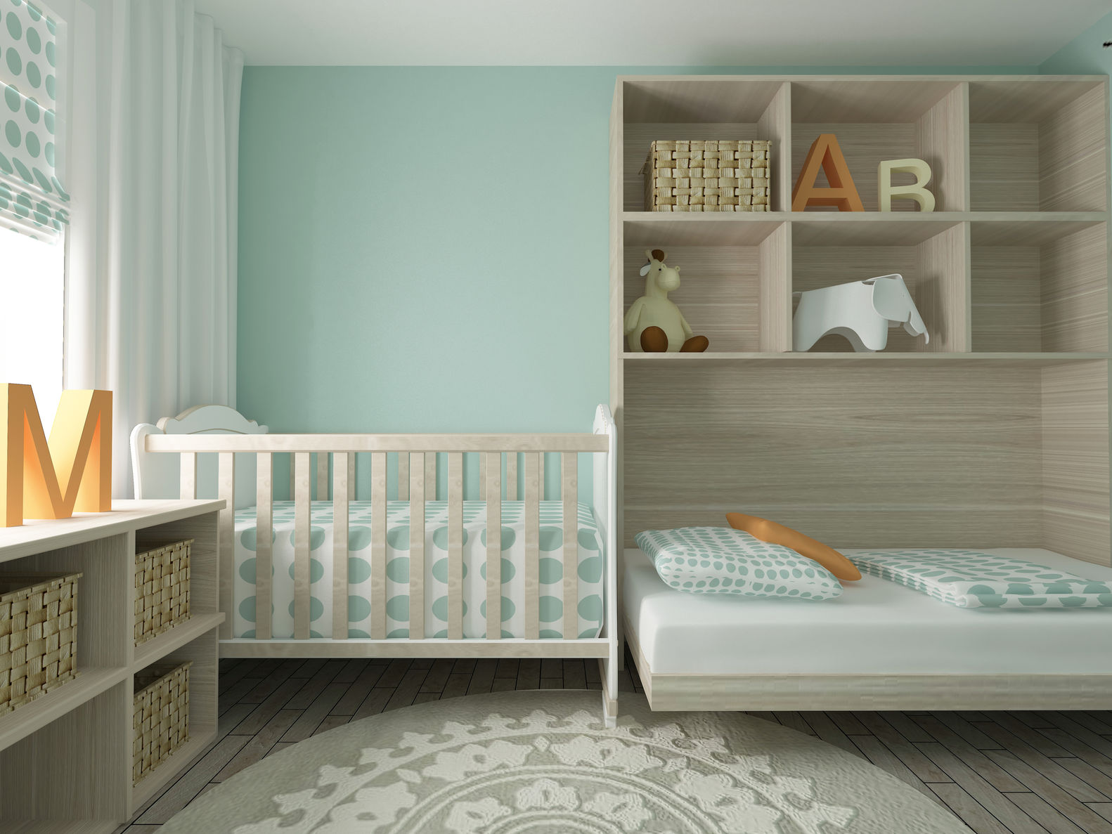Interior Baby Nursery Room