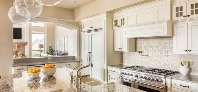 White Kitchen Cabinetry is Back in Style With a Little Flair