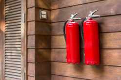 Don't Forget to Install Fire Extinguishers For the Outside
