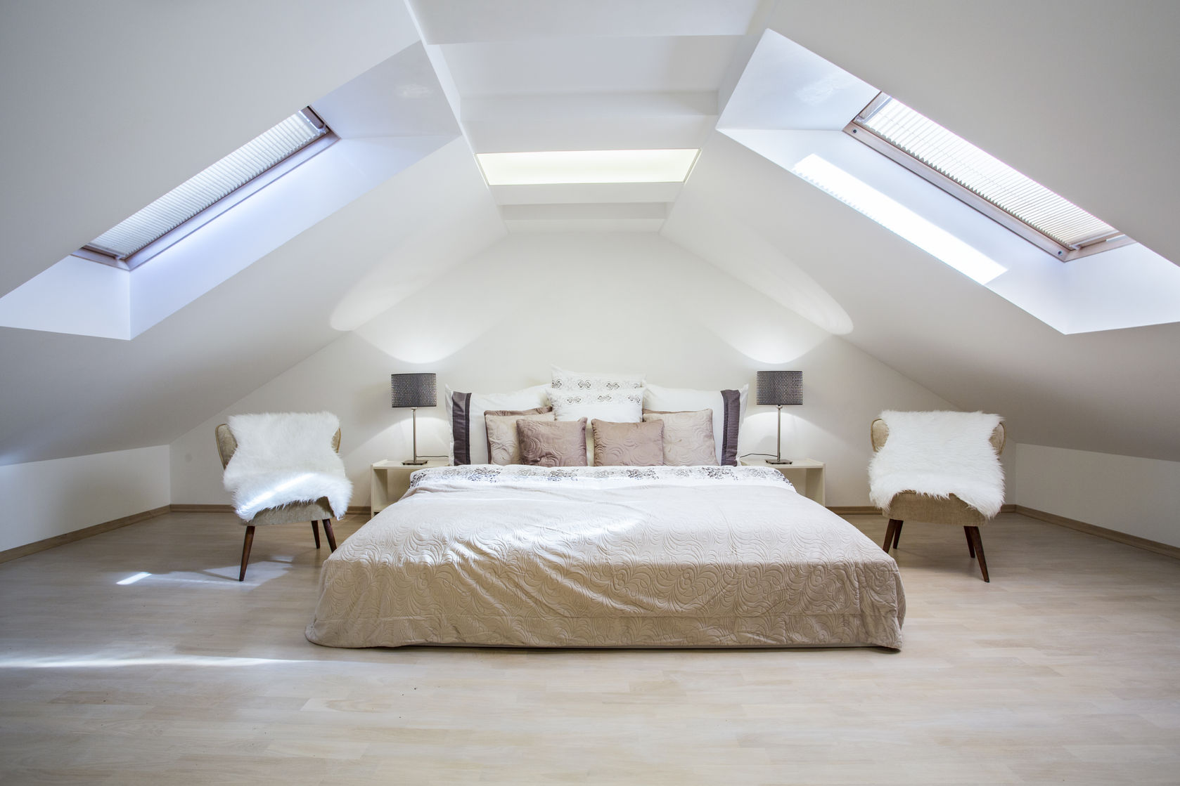 guest attic bedroom