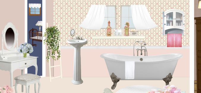 For Small Bathrooms – Pedestal Sinks Are a Great Option