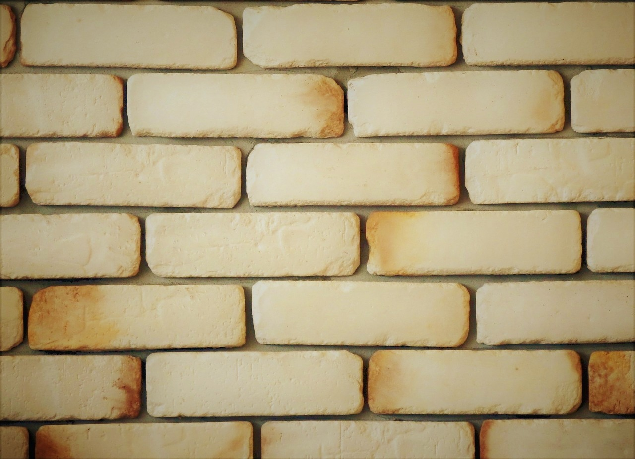 yellow brick siding