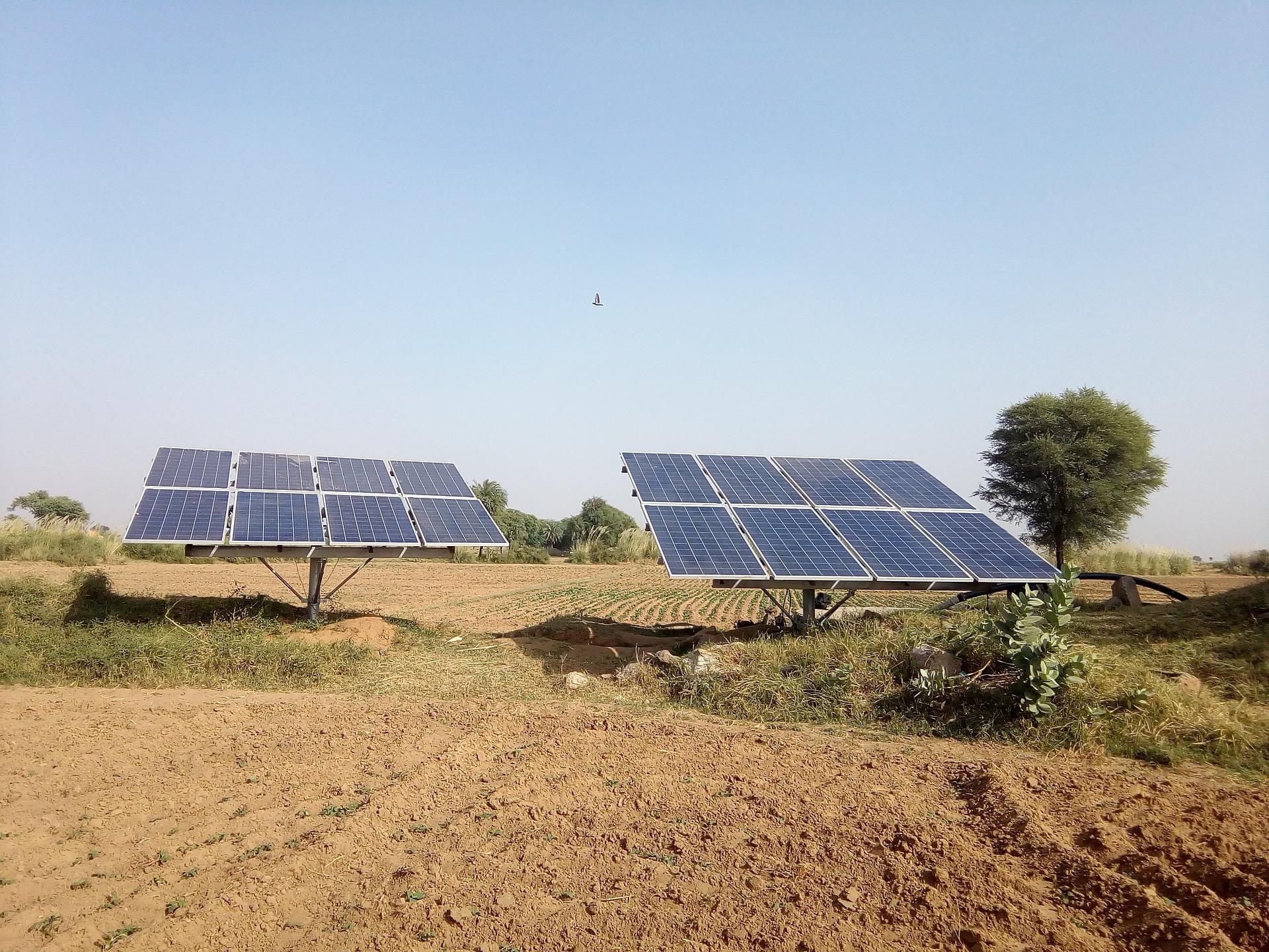 garden solar panels