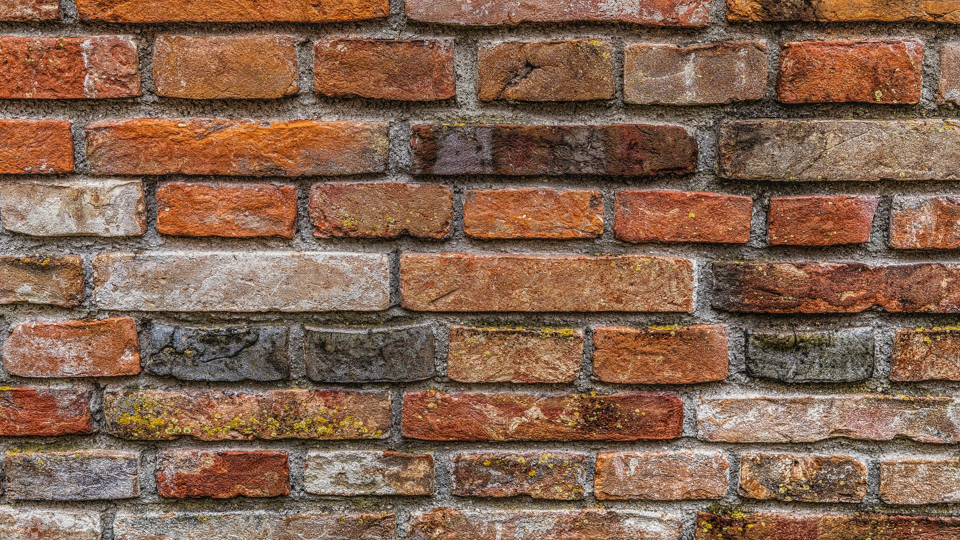 colored brick siding