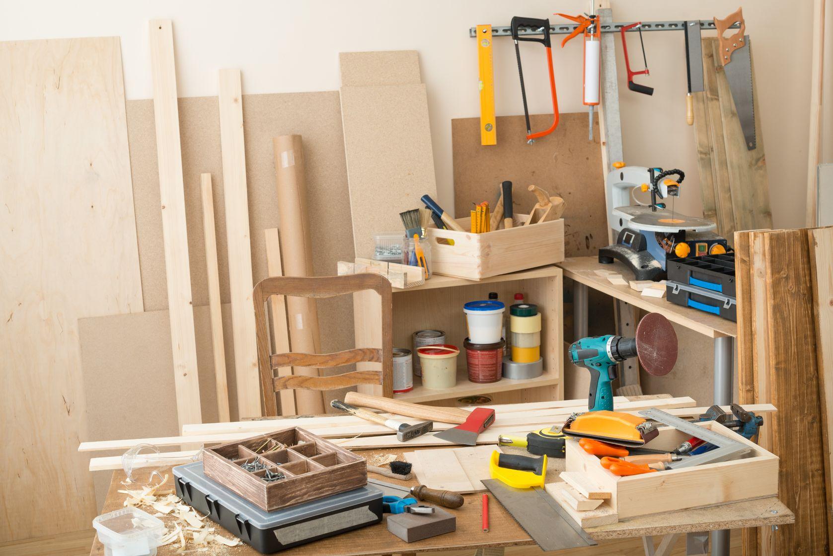tool utility room