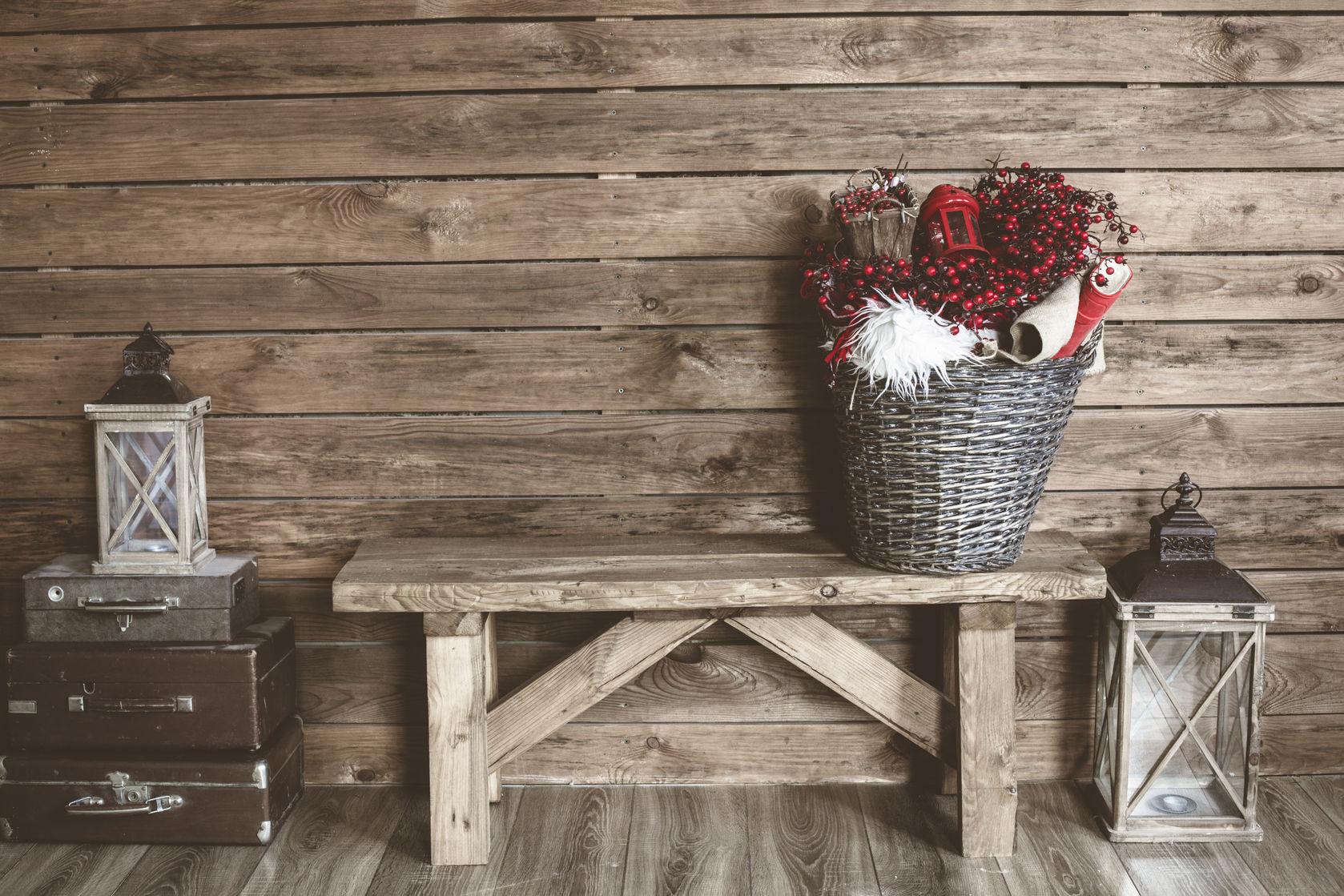 farmhouse entry bench