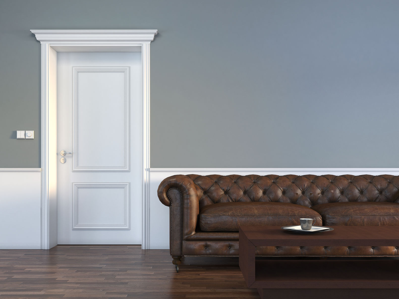 gray colored wall