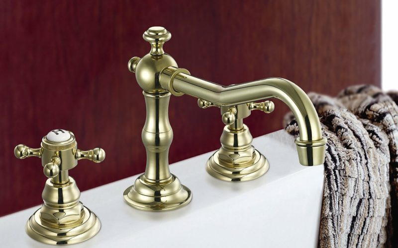 Making a Remodeling Change with a Classic Tub Faucet