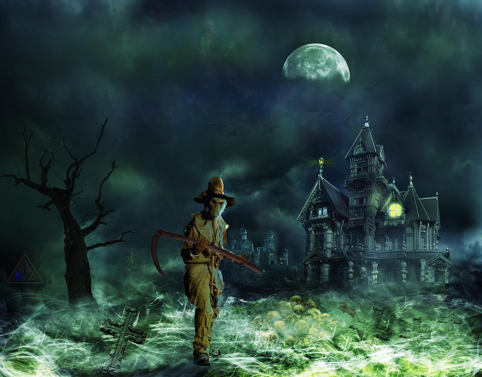 grim reaper haunted house