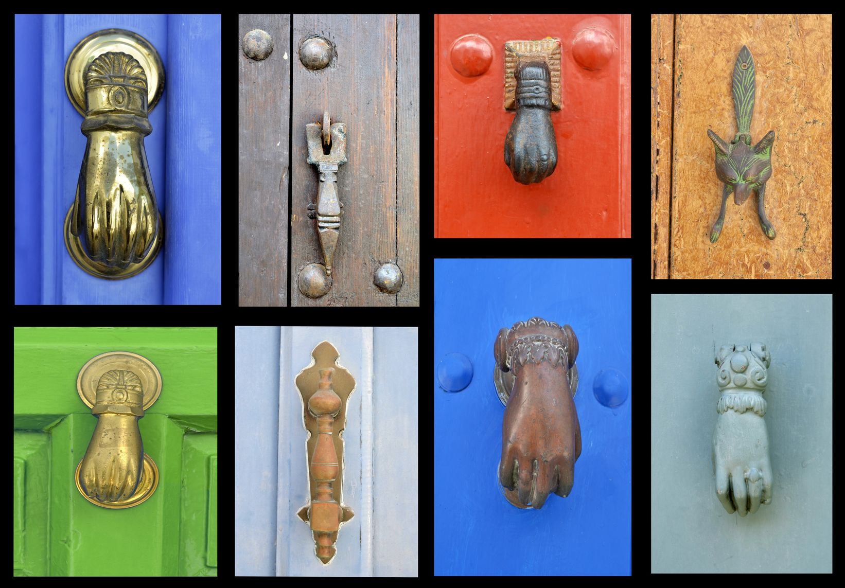 vintage door knockers