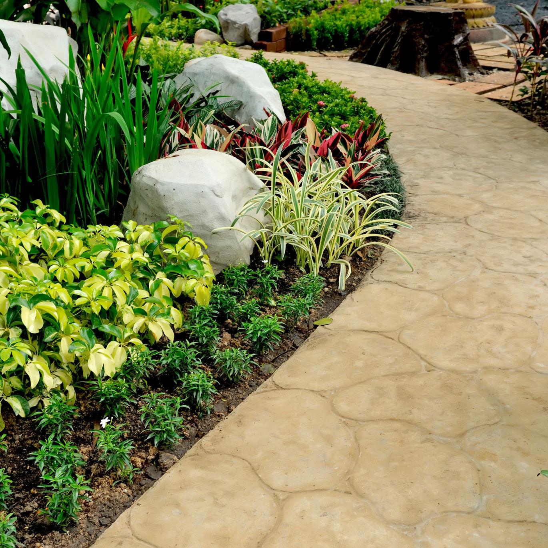 stone walkway type