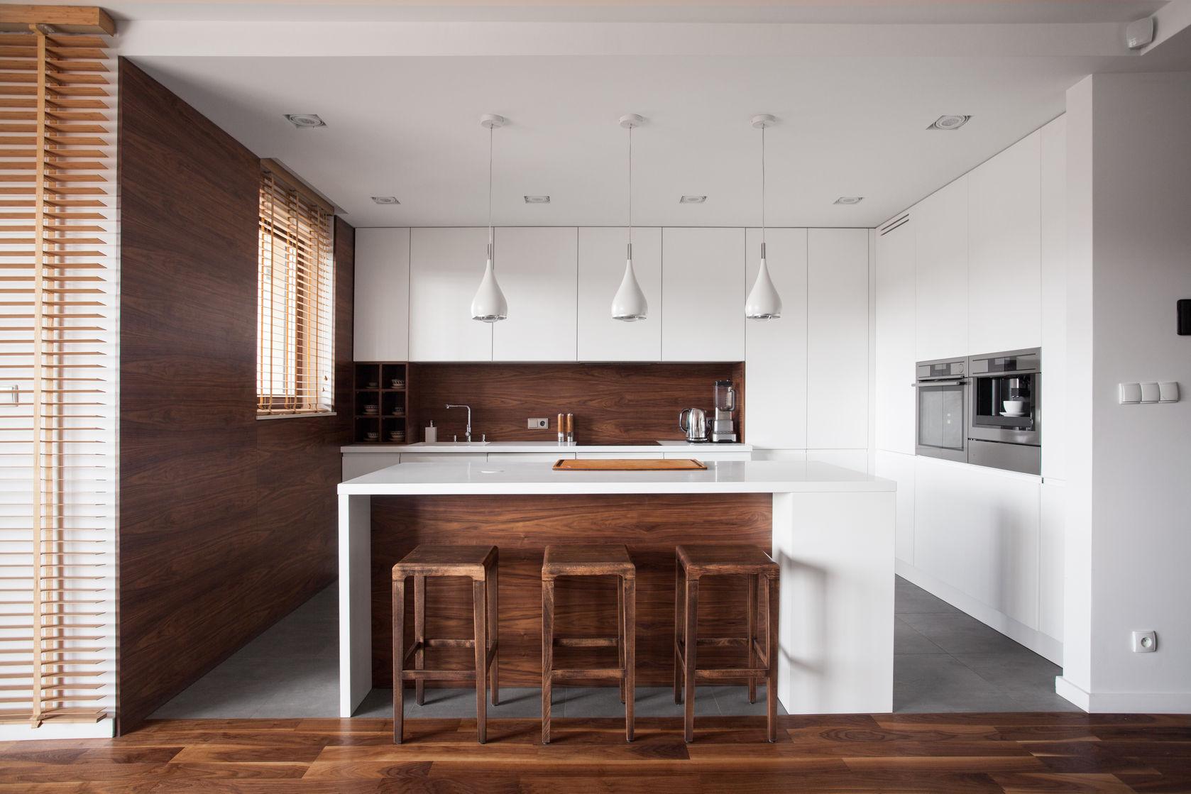 modern styled kitchen