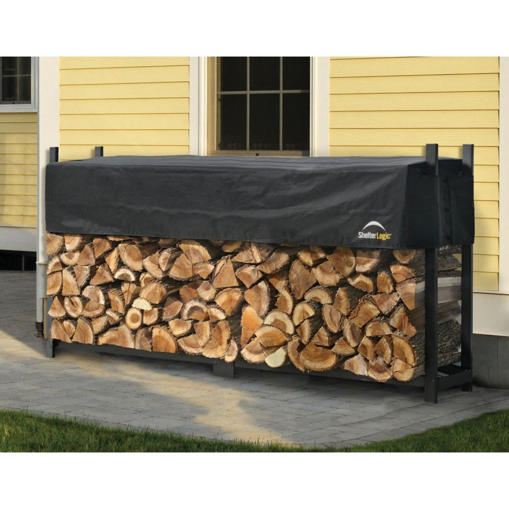 outdoor log bin