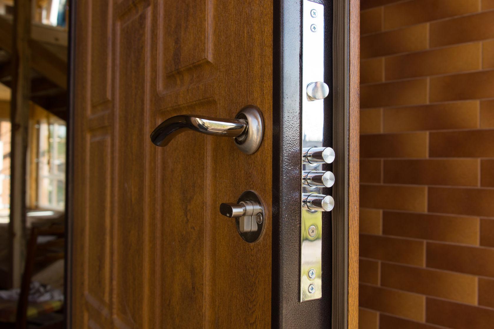 steel bolt door lock