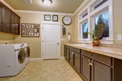 <span>photo image analysis:</span> Functional Laundry Room