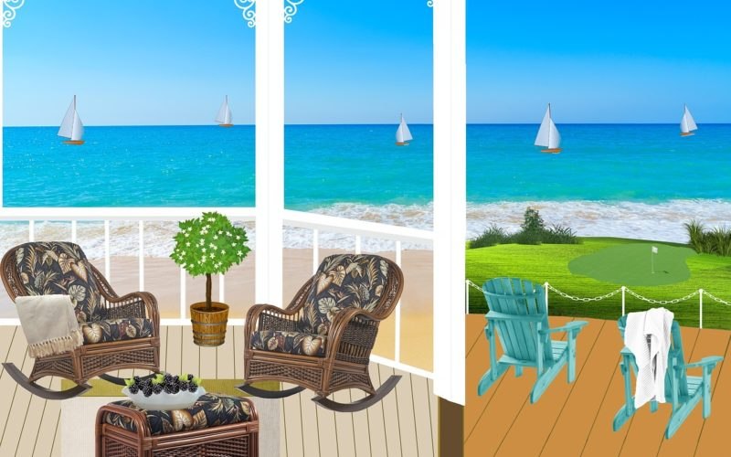 Rocking Time Away With a Comfortable Porch Chair