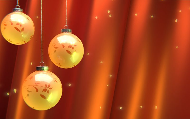 Decorate With Creative Christmas Tree Ball Ornaments