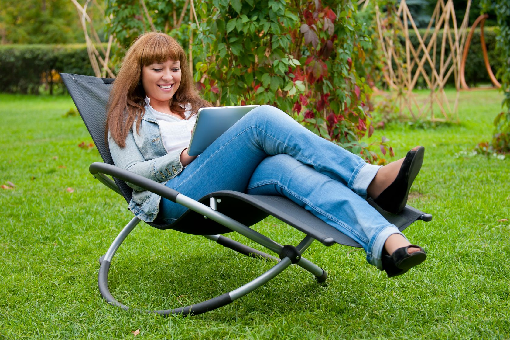 garden reading chair