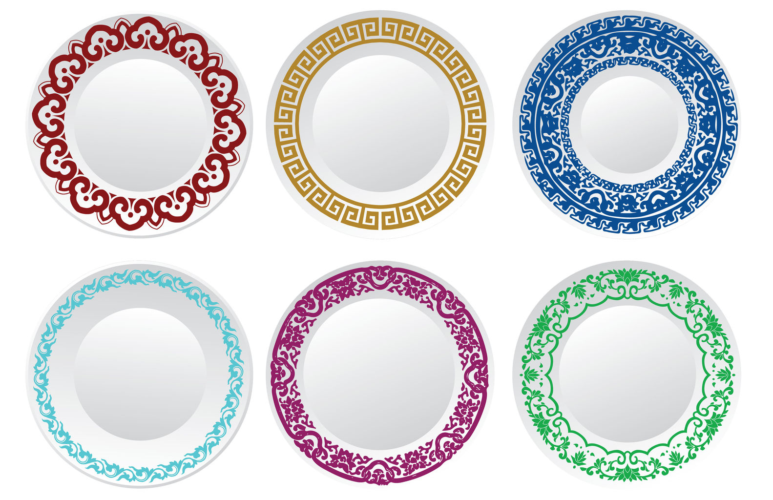 types of dinnerware styes and colors