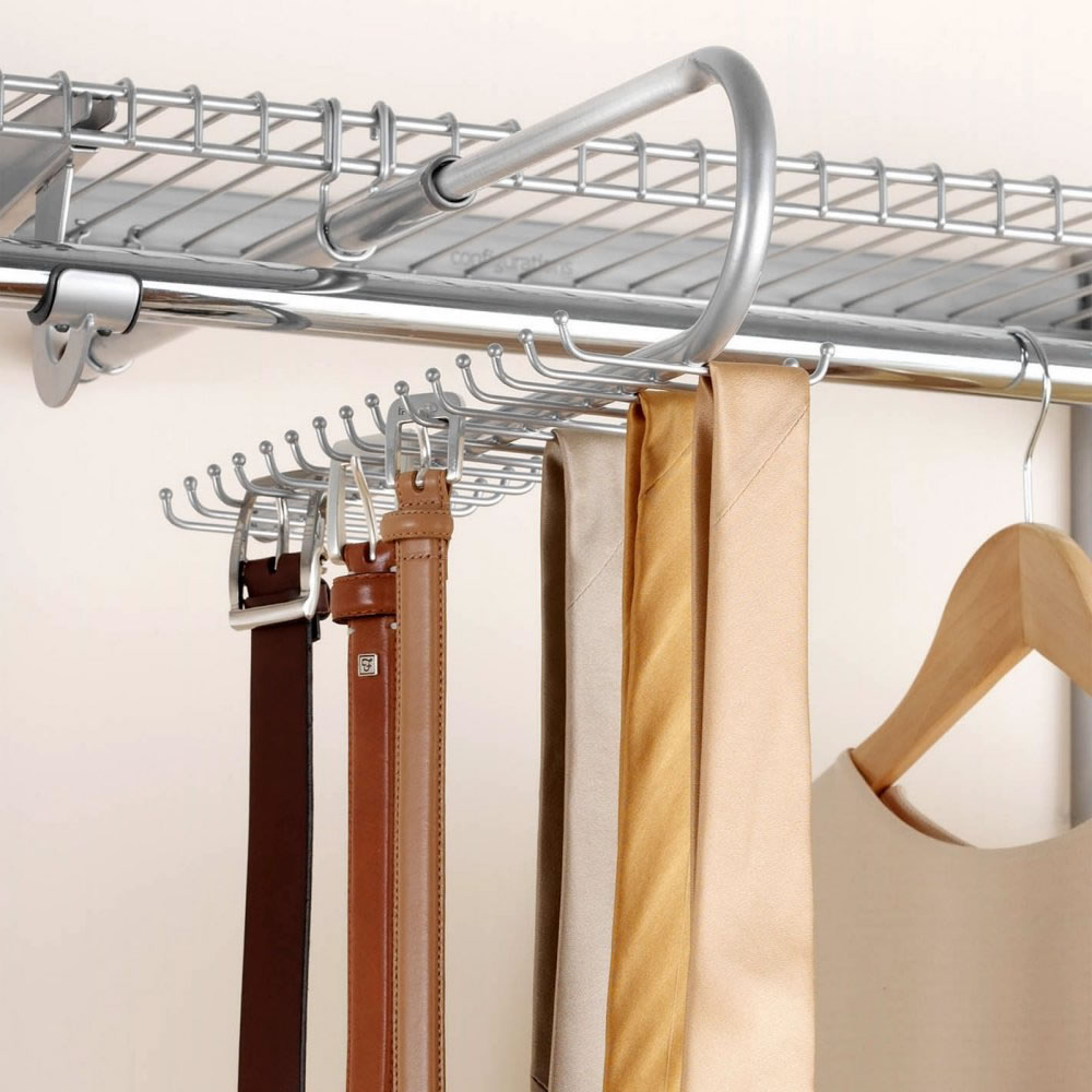 closet tie racks