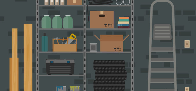 Basement Storeroom and Storage Ideas