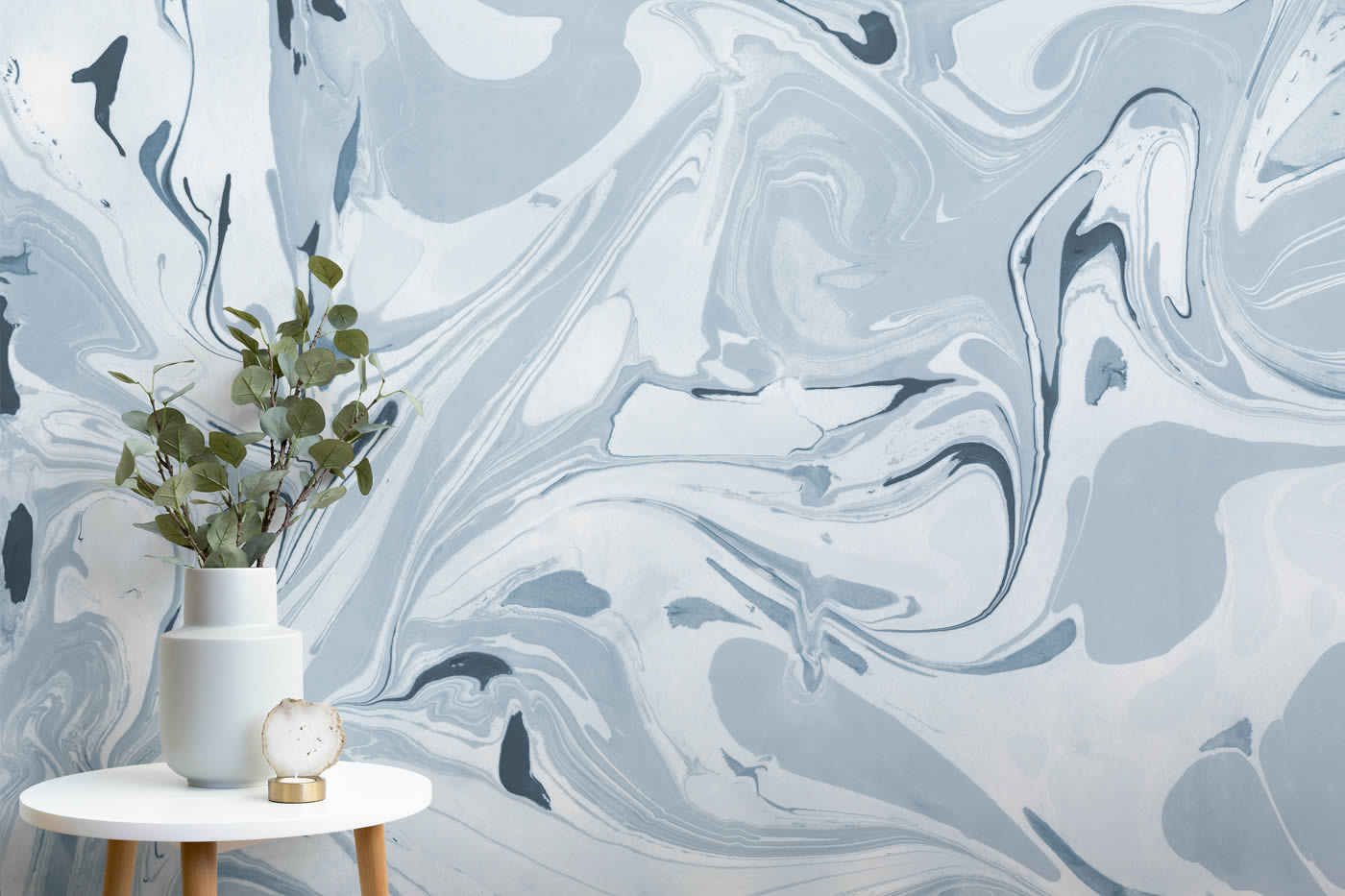 marble style wall mural