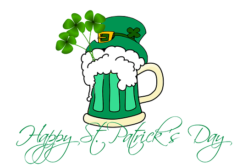 It's Saint Patrick's Day – March 17
