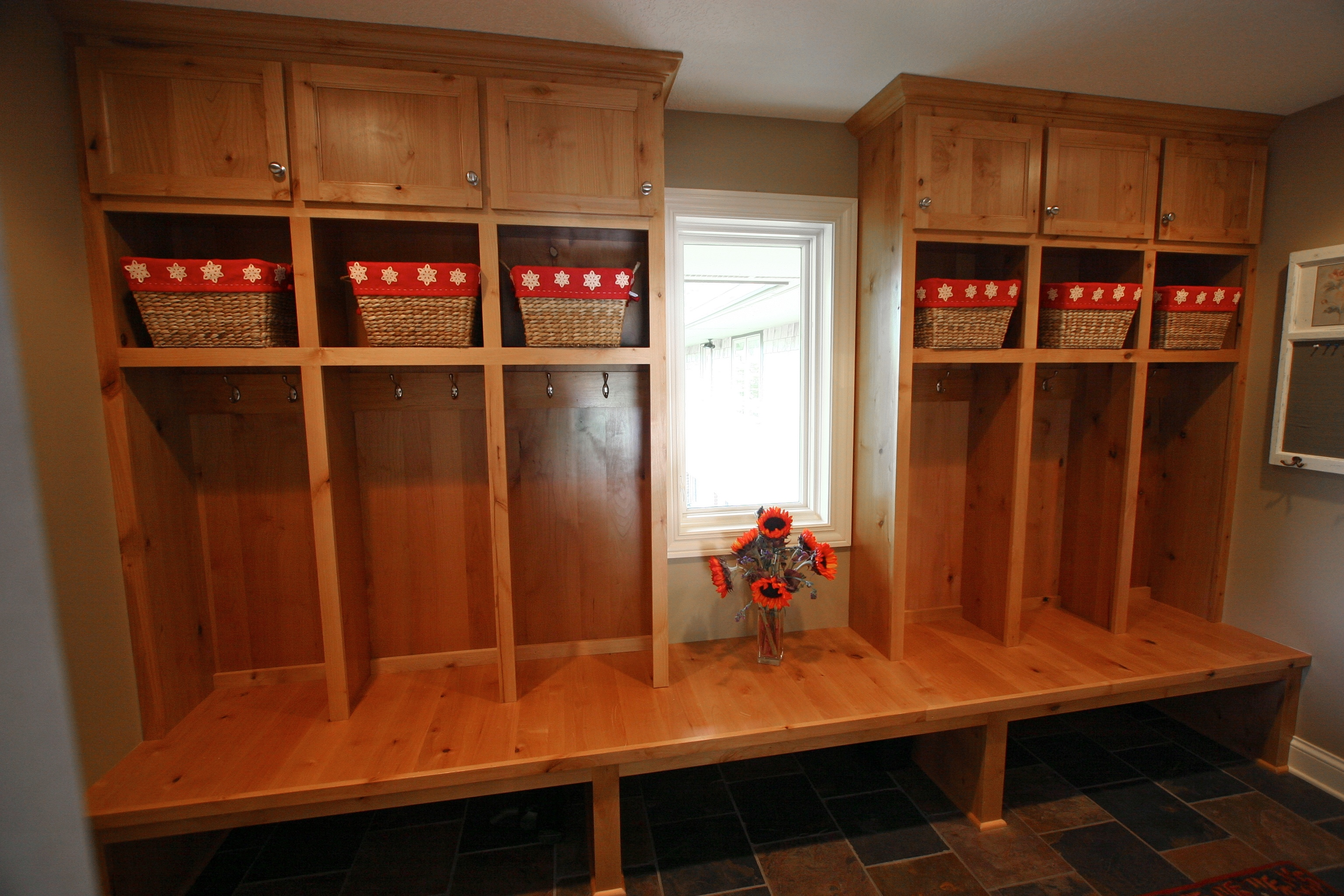mudroom cabinetry