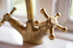 A Touch of Class With a Vintage Kitchen Faucet