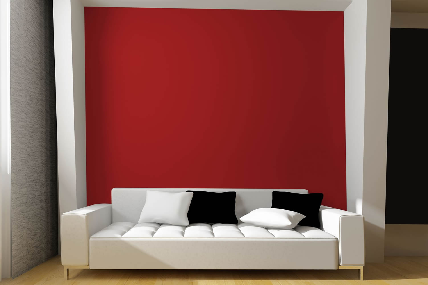 paint room red