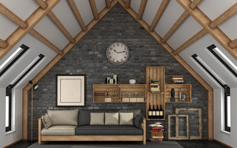 <span>photo image analysis:</span> Attic Living Area