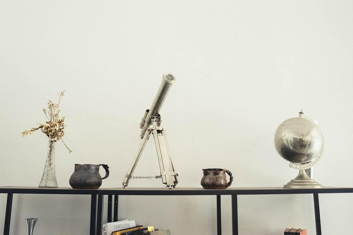 shelf telescope