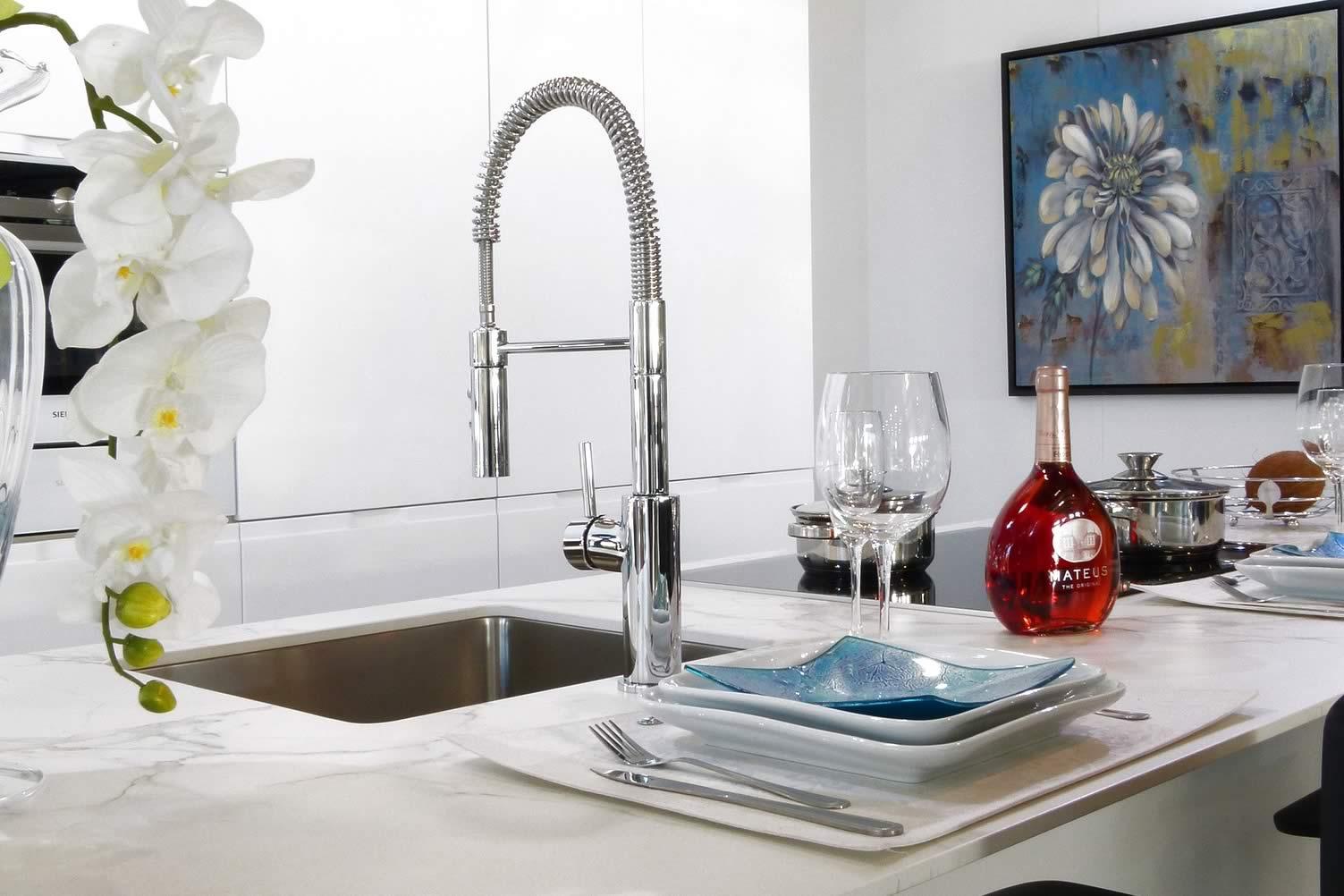 modern kitchen link