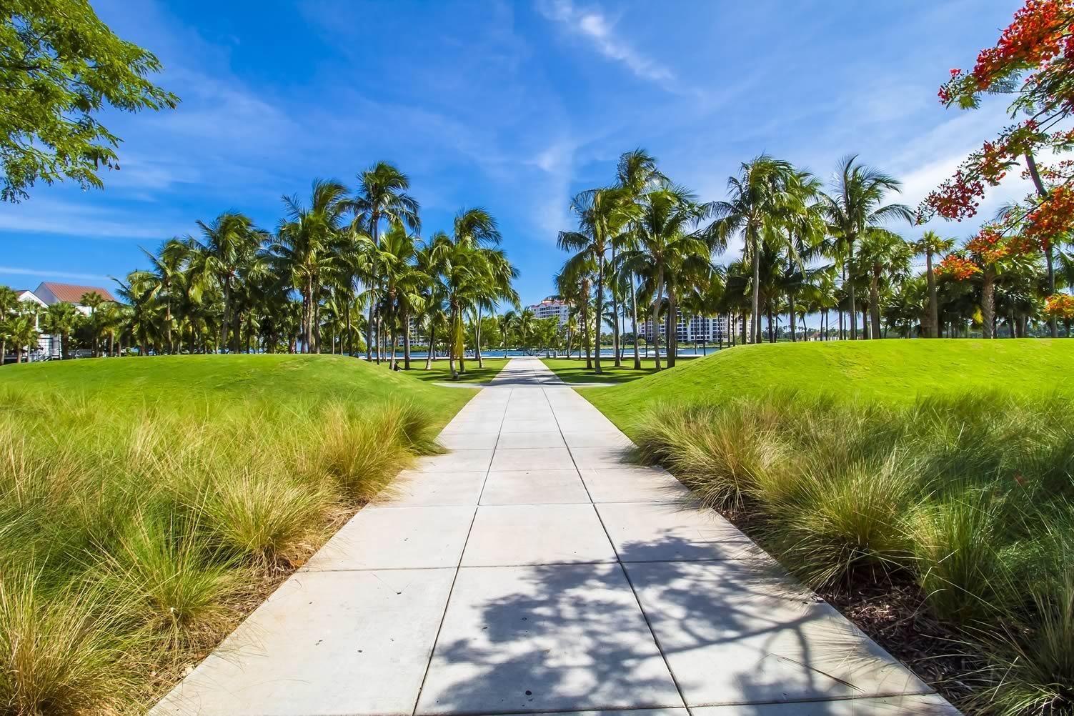 Miami summer beach