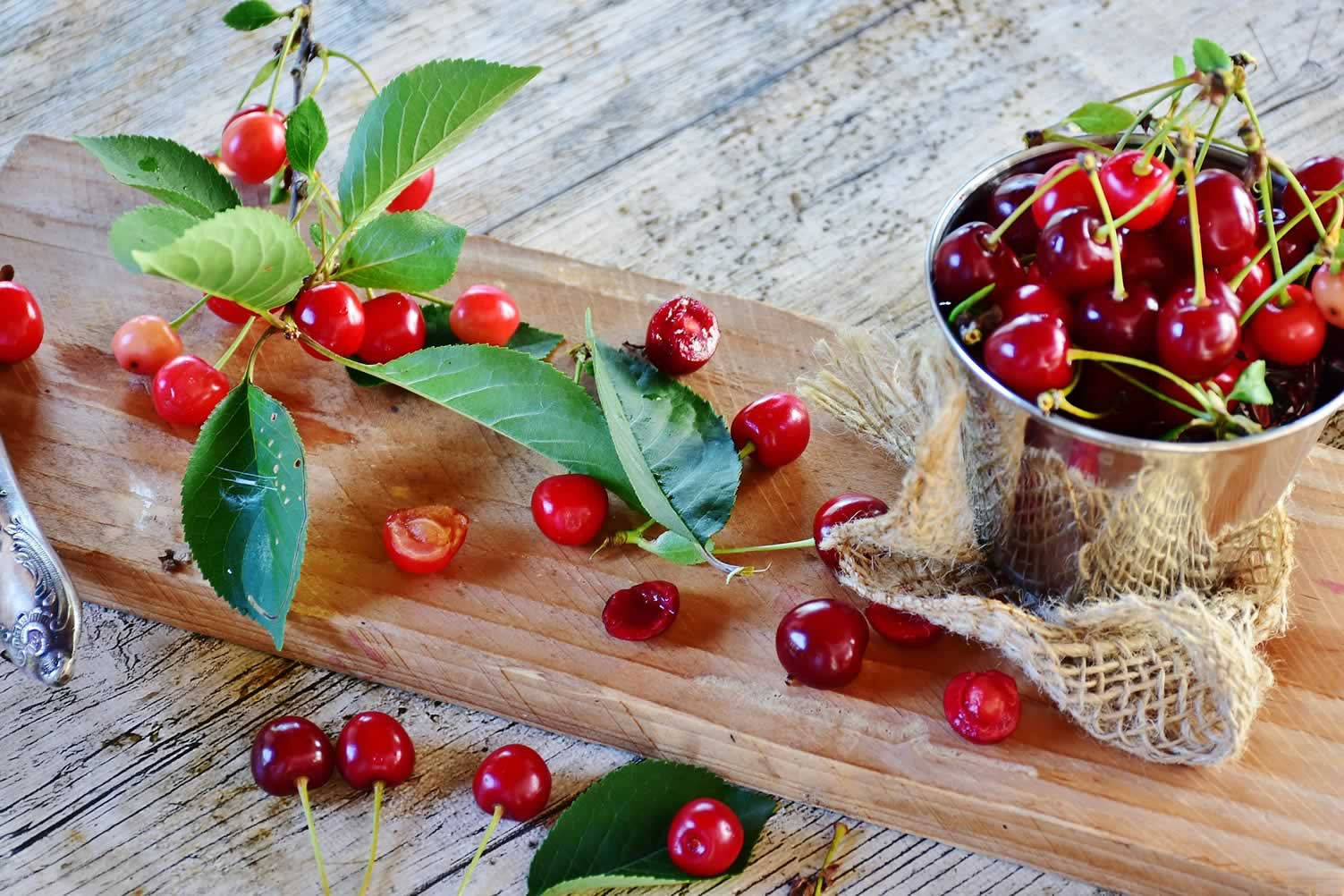 cherry harvest decor