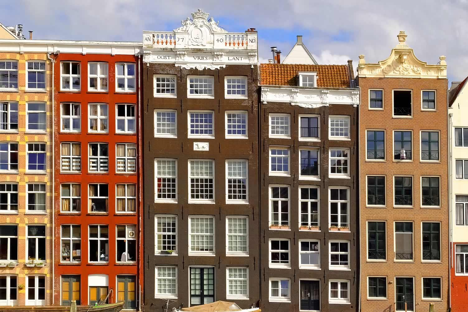 color row homes