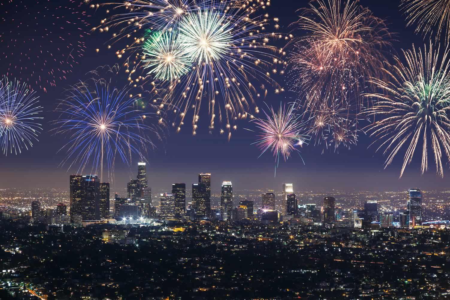 celebrating new years eve