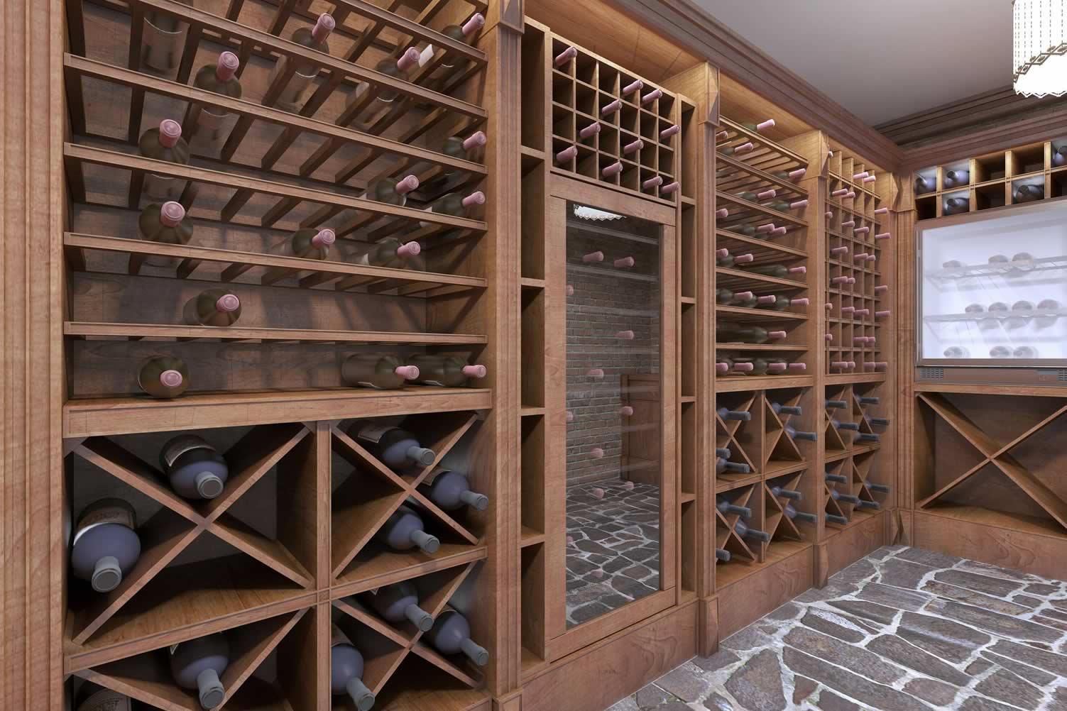 basement cellar