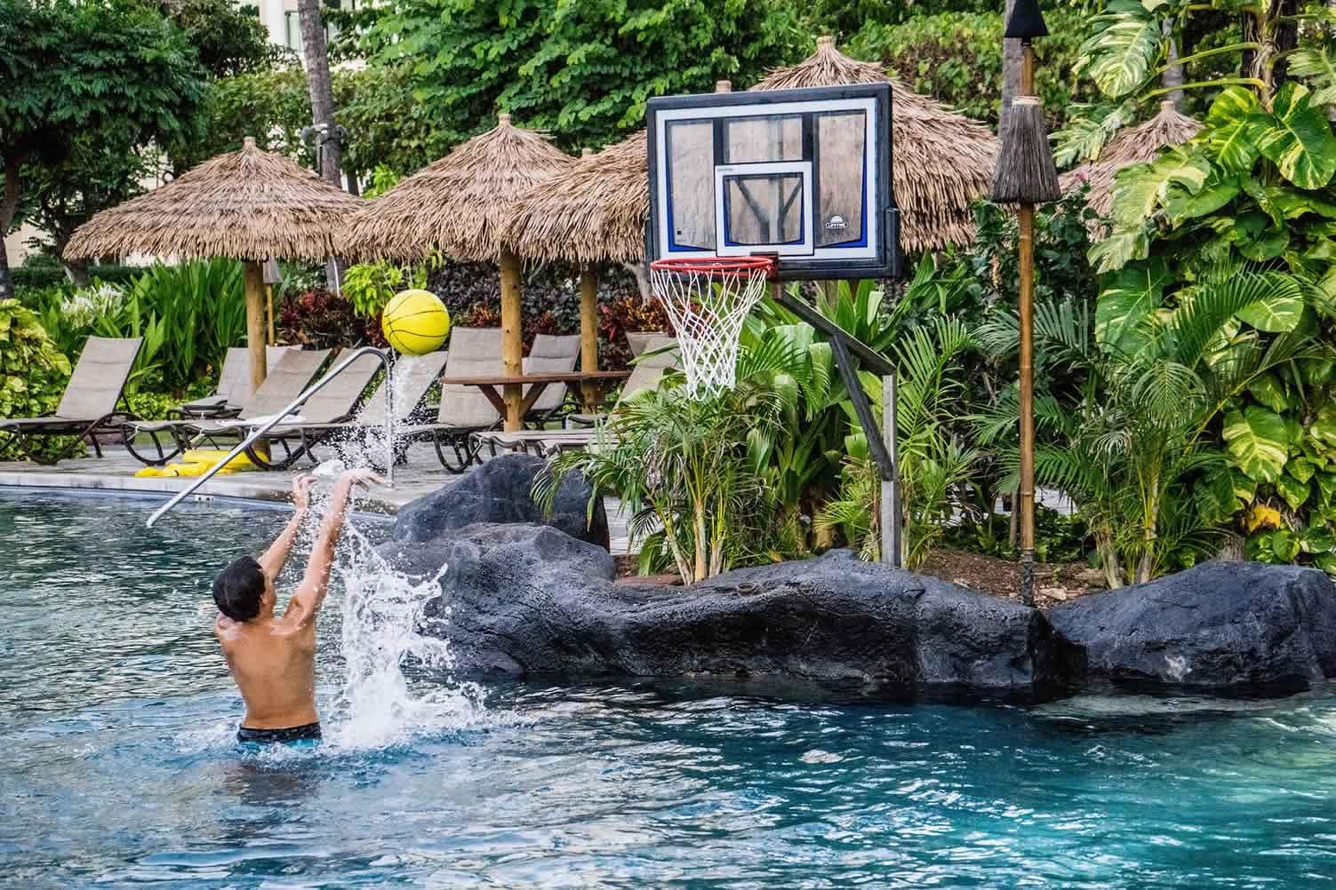 pool basketball