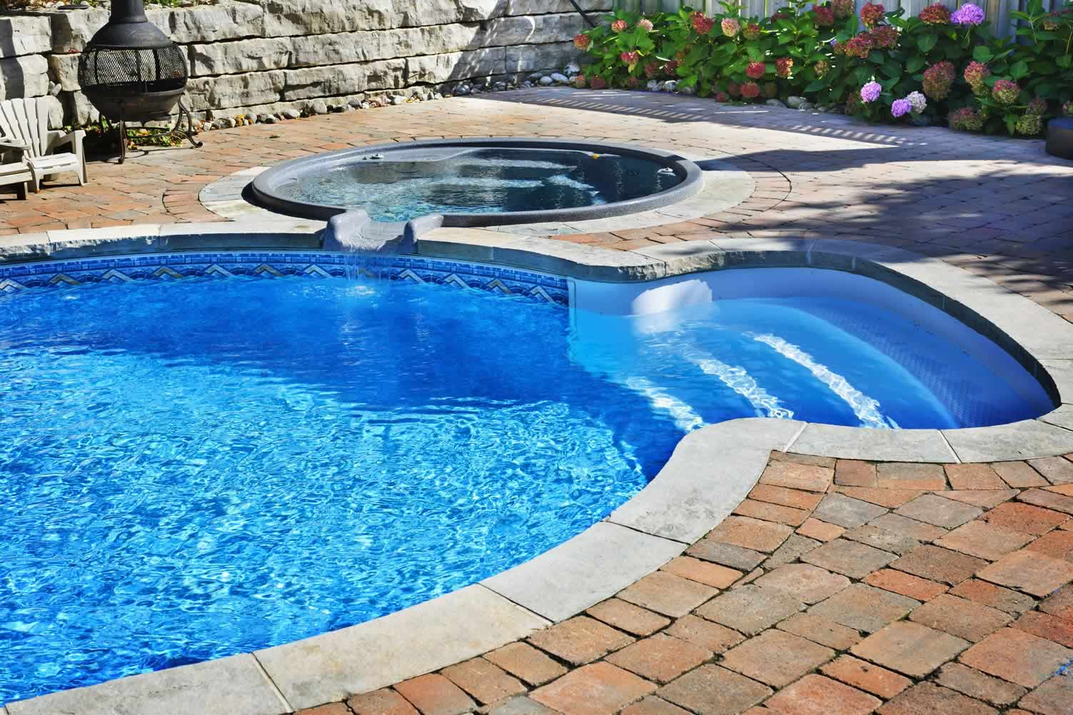 Adding A Hot Tub To Your Swimming Area Photo Remodeling Analysis