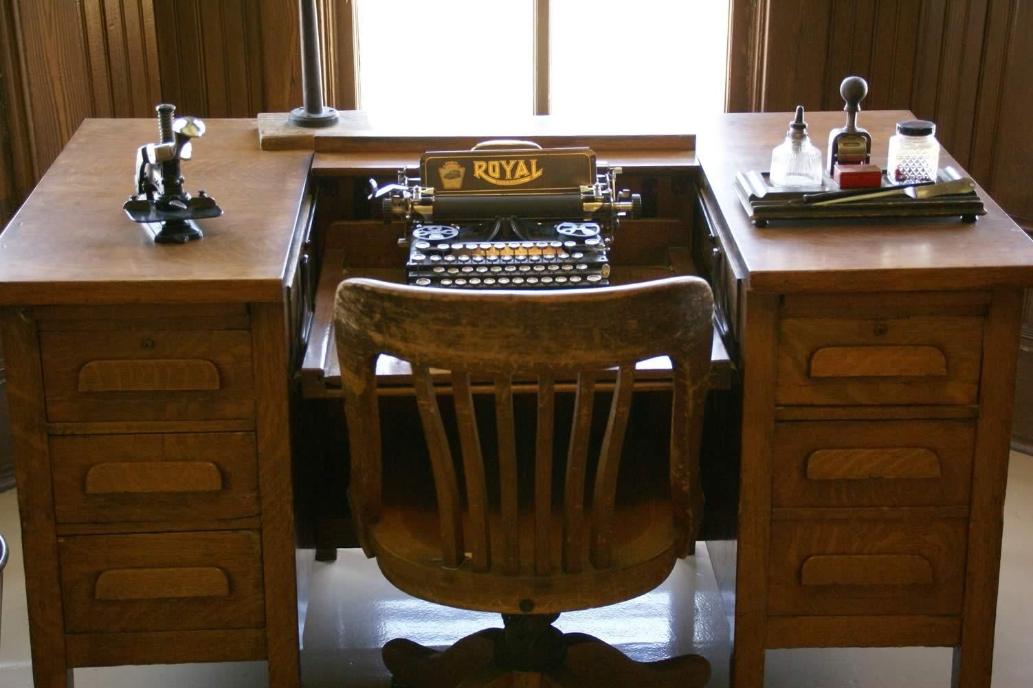 vintage tables desks