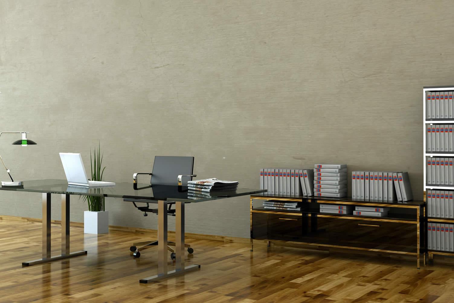 basement home office